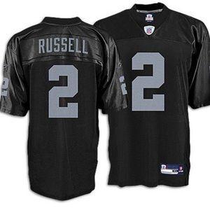 JaMarcus Russell Reebok Oakland Raiders Jersey